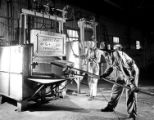 [Guiberson Corporation, Aircraft and Heater Division, Machinists with Kiln]
