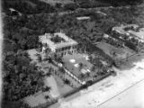 [Frederick Guest's 'Villa Artemis' Estate (left) and Otto Hermann Kahn's 'Villa Oheka' (right),...
