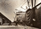 [Loading Dock, Galveston Wharf, Imperial Sugar Company]