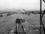 [Lancaster Classification Yard from Retarder Shack, Texas & Pacific Railway Company]