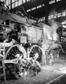 [Work Crew Repairing Locomotive 705, Texas & Pacific Railway Company]
