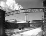 [Facility Entrance, Lone Star Cement Corp.]