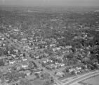 [Aerial View, Suburban Houston]