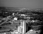 [Aerial View, Prudential Building Construction, Houston, Texas]