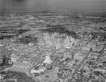 [Aerial View, Houston, Texas, Houston City Hall in Foreground]