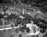 [Aerial View, Eddie Rickenbacker's Bear Creek Ranch, Hunt, Texas]