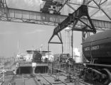 [Seatrain Louisiana, Deck with GATX Railroad Tank Cars, Seatrain Lines]