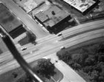 [Aerial View, Gate, Theodore Newton Law Residence, Houston, Texas ?]