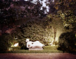 [Reclining Figure in Garden, Theodore Newton Law Residence]