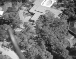 [Aerial View, Theodore Newton Law Residence, Houston, Texas ?]
