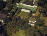 [Aerial View, Theodore Newton Law Residence, Houston, Texas]