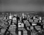 [Aerial View, Downtown Dallas, Texas]