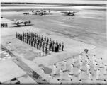 [Military Assembly on Airport Landing Field]
