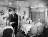 [Southern Pacific Sunset Limited Diner Car, Budd Company]