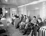 [Southern Pacific Sunset Limited Lounge, Long View, Budd Company]