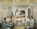 [Southern Pacific Railroad, Sunset Limited, Pride of Texas Coffee Shop Car, Budd Company]