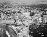 Newport Business District, Aerial View