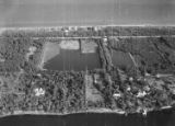 [Frederick Guest's 'Villa Artemis' Estate (back right) and Otto Hermann Kahn's 'Villa Oheka' (back...