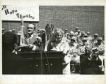 [Bob Hope Receives ''SMU Oscar'' from the Arden Club, SMU, 1965]