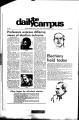 The Daily Campus, Volume 58, Number 38, November 7, 1972