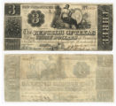 Republic of Texas $3.00 (three dollars) change note