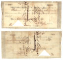 Republic of Texas $139.00 (one hundred thirty-nine dollars) audited draft