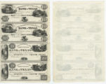 Commercial and Agricultural Bank of Texas $10.00 (ten dollars) private scrip