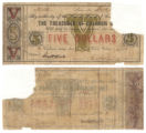 Calhoun County $5.00 (five dollars) county scrip