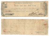 Rio Grande Soldiers' Fund 12-1/2 cents (twelve and one half cents / one bit) private scrip