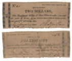 Cooke County $2.00 (two dollars) county scrip