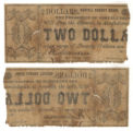 Coryell County $2.00 (two dollars) county scrip