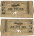 Davis County $1.00 (one dollar) county scrip