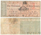 Ellis County $1.00 (one dollar) county scrip