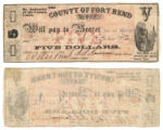 Fort Bend County $5.00 (five dollars) county scrip