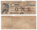 Fort Bend County $1.00 (one dollar) county scrip