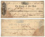 Fort Bend County $10.00 (ten dollars) county scrip