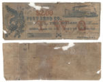 Fort Bend County $2.00 (two dollars) county scrip