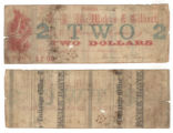 T. H. McMahan & Gilbert $2.00 (two dollars) private scrip