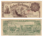 Labor Exchange 1/2 (one half) unknown currency