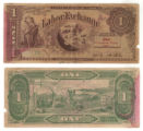 Labor Exchange 1 (one) unknown currency