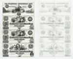 The Commercial and Agricultural Bank of Texas $100.00, $50.00, $20.00, and $10.00 (one hundred,...