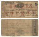 Grimes County $5.00 (five dollars) treasury warrant