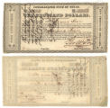 Republic of Texas $10,000.00 (ten thousand dollars) consolidated fund note