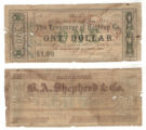 Bastrop County $1.00 (one dollar) county scrip