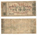 Bastrop County $2.00 (two dollars) county scrip