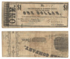 Harrison County $1.00 (one dollar) county scrip