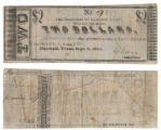 Harrison County $2.00 (two dollars) county scrip