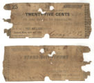 Craft Co. 25 cents (twenty-five cents) private scrip