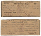 Jasper County 25 cents (twenty-five cents) county scrip