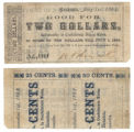 W. S. Thomas & Co. $2.00 (two dollars) private scrip